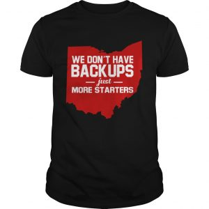 We Dont Have Backups Just More Startersmap  LlMlTED EDlTlON Unisex