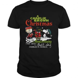 1572683003A Charlie Brown Christmas 50th Anniversary 1969-2019 signature  Unisex