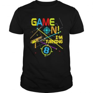 1574070927Laser Tag Birthday Party Game On Im Turning 8  Unisex