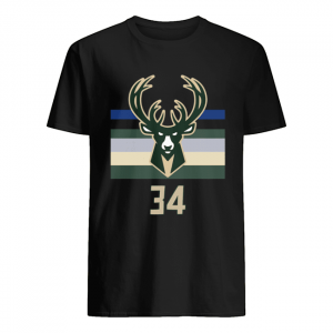 34 Giannis Antetokounmpo Milwaukee Bucks  Classic Men's T-shirt