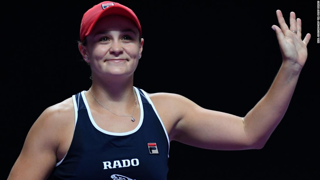 Ash Barty's star shines brightly at WTA Finals as she reaches semis