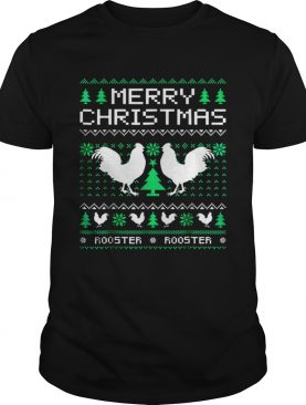 Beautiful Rooster Ugly Christmas
