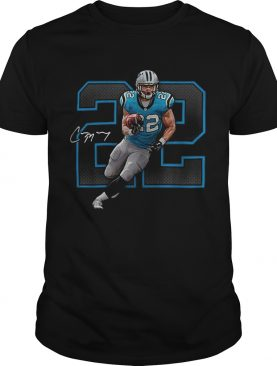Christian McCaffrey Carolina Panthers Signature shirt