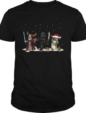 Darth Vader Yoda Palpatine Star Wars Christmas shirt