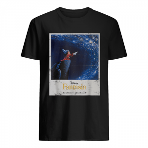Disney Mickey Mouse Fantasia The Ultimate In Sight And Sound  Classic Men's T-shirt