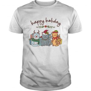 Happy Holliday Cats Christmas  Unisex