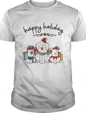Happy Holliday Dogs Christmas shirt