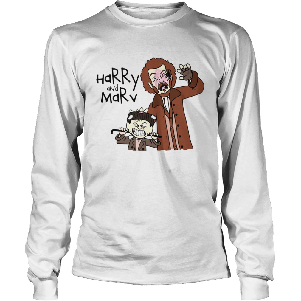 Harry and Marv Home alone Calvin and Hobbes LongSleeve
