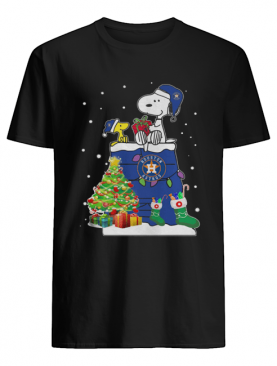 Houston Astros Snoopy And Woodstock Christmas shirt