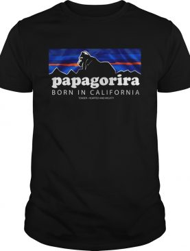 Papagorira Born in California shirt