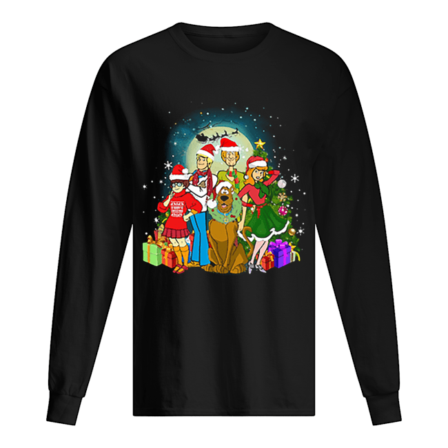 Scooby-Doo family Christmas Long Sleeved T-shirt