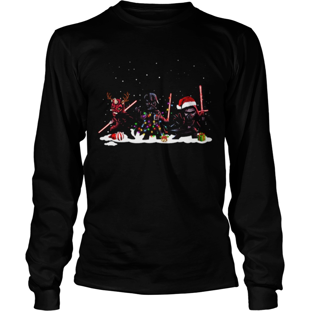 Star Wars Darth Maul Darth Vader Kylo Ren Christmas LongSleeve