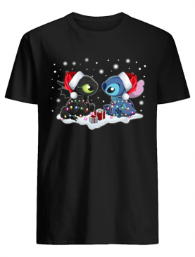 Stitch and Toothless Christmas shirt