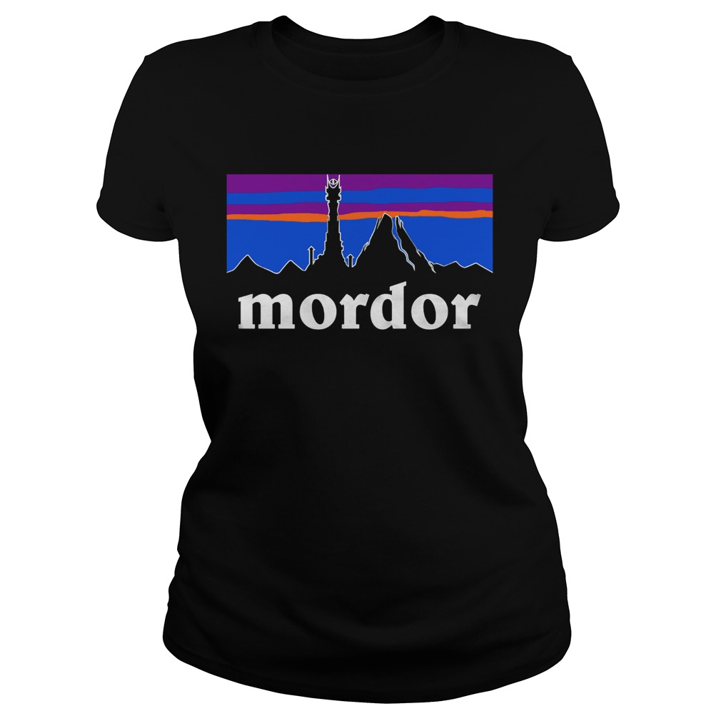 The Lord Of The Rings Mordor Patagonia Classic Ladies