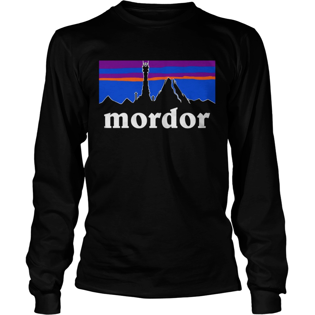 The Lord Of The Rings Mordor Patagonia LongSleeve