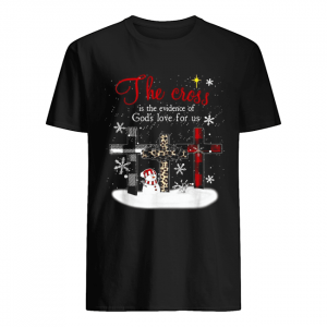 The cross is the evidence of god's love for us Christmas  Classic Men's T-shirt