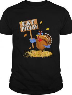 Turkey Eat Pizza tee Vegan Funny Thanksgiving gift shirt
