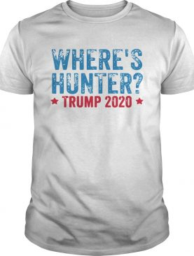 Wheres hunter trump 2020 shirt