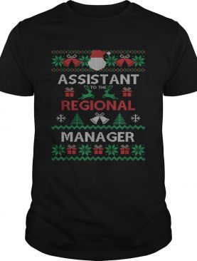Assistant To The Regional Manager Ugly Christmas shirt