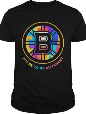 Boston Bruins Its Ok To Be Different shirt