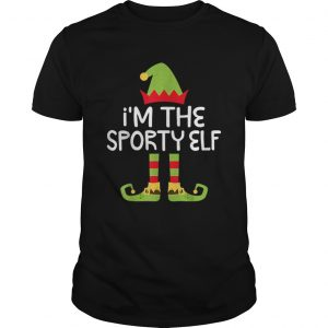 Im The Sporty Elf Matching Christmas Costume  Unisex