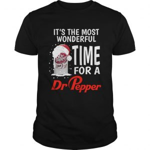Its the most wonderful time for a Dr Pepper Christmas  Unisex