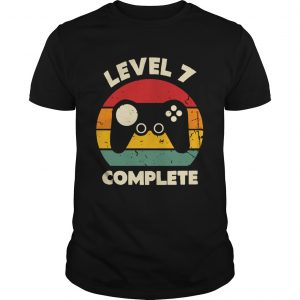 Level 7 COmplete Gamer Vintages  Unisex