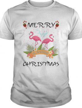 Merry Christmas Flocking shirt