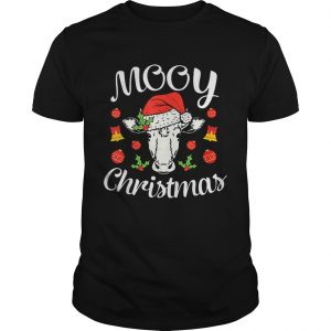 Nice Mooy Christmas Xmas Hat Cow Lover  Unisex