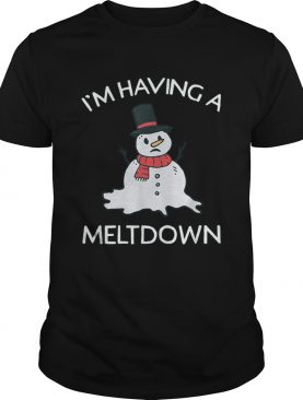 Snowman Having A Meltdown for Christmas WinterSnowman Having A Meltdown for Christmas Winter shirt