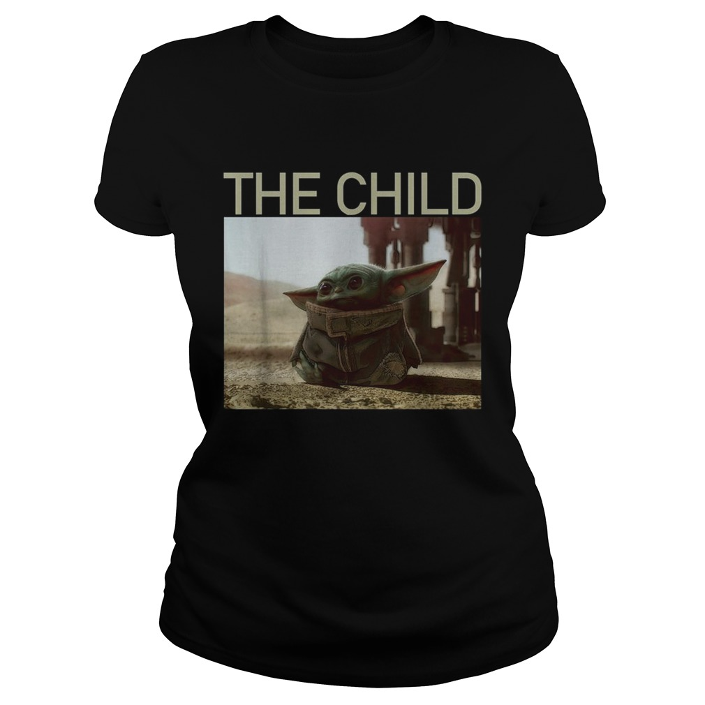 The Mandalorian Baby Yoda The Child Classic Ladies