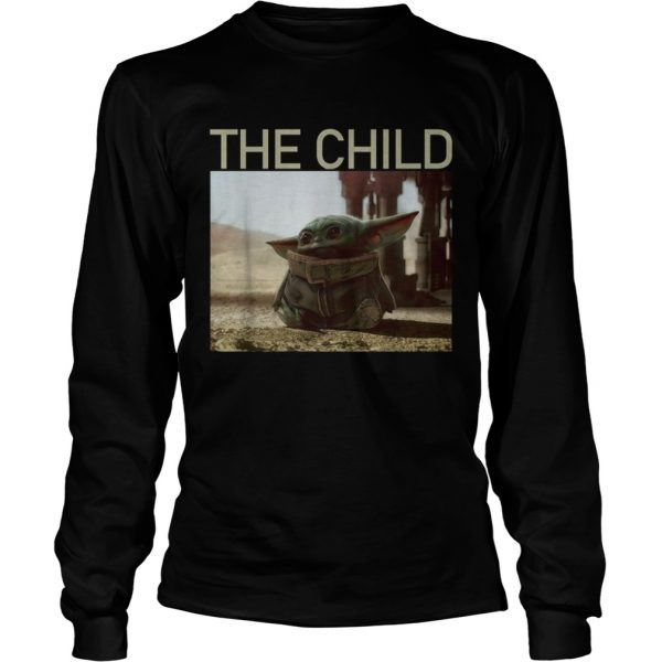 The Mandalorian Baby Yoda The Child  LongSleeve
