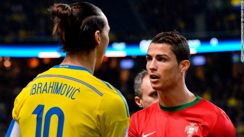 Zlatan Ibrahimović: 'The duel with Cristiano Ronaldo will be exciting,' says Swedish star