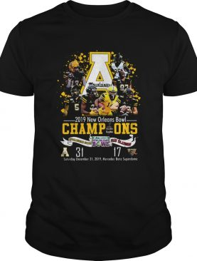 Appalachian State Mountaineers 2019 New Orleans Bowl Champions shirt