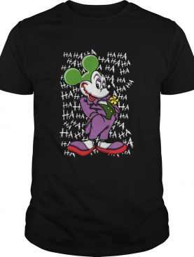 Mickey Joker Haha shirt