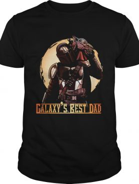 The Mandalorian and Baby Yoda Galaxys Best Dad shirt
