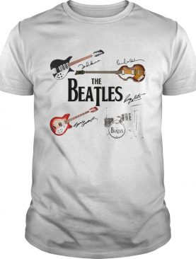 The Beatles Instrument and Signature shirt