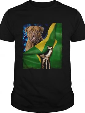 Bandeira do Brasil Dogue de Bordeaux shirt