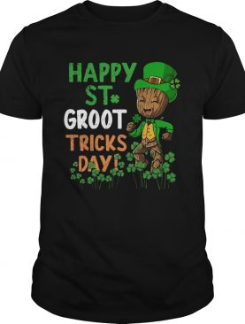 Happy St Patricks Day Groot Tricks Day shirt