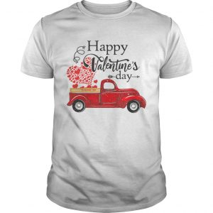 Happy Valentines Day Truck Carrying Love Heart  Unisex