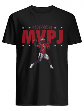 Houston Roughnecks MVPJ shirt