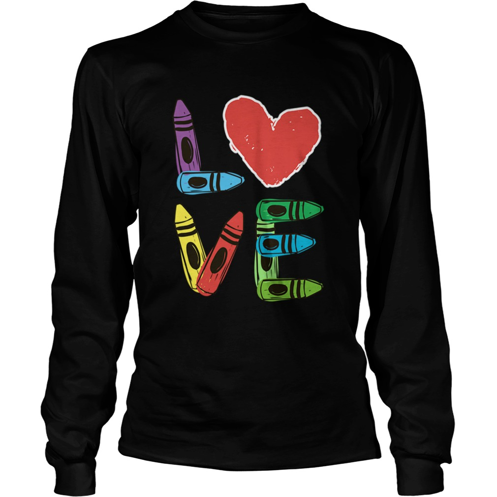 Preschool Teacher Valentines Day LongSleeve
