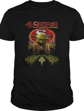 San Francisco 49ers mashup Master Yoda Star Wars shirt