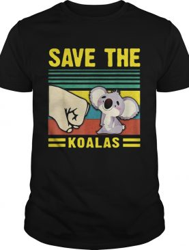 Save the Koalas VintageSave the Earth shirt