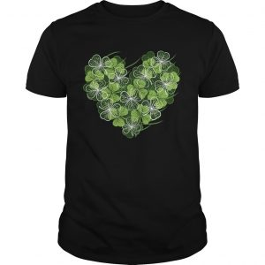 Shamrock Heart St Patricks Day Love Valentines Day  Unisex
