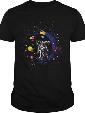 Space Surfing Astronaut shirt