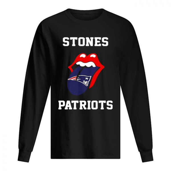 The Rolling Stones New England Patriots  Long Sleeved T-shirt