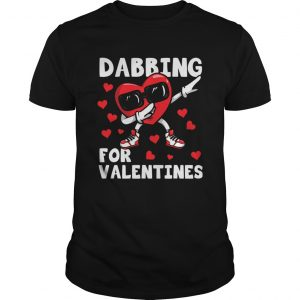 Valentines Day Dancing Heart Lover Cute Dabbing  Unisex