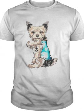 Yorkshire Terrier tattoo I Love Mom shirt