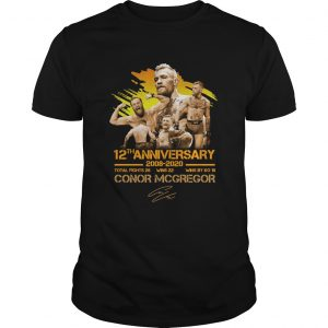 12th anniversary 20082020 Conor McGregor  Unisex